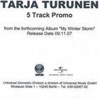 TARJA 5 Track Promo album cover
