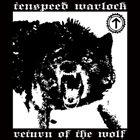 TENSPEED WARLOCK Return Of The Wolf album cover