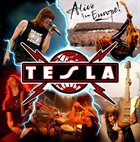 TESLA Alive In Europe album cover