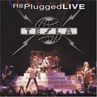TESLA Replugged Live album cover