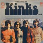 THE KINKS Golden Hour Of The Kinks Vol. 2 album cover