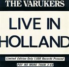 THE VARUKERS Live In Holland album cover