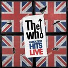 THE WHO Greatest Hits Live album cover