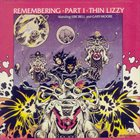 THIN LIZZY Remembering Part 1 album cover
