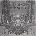 THIRD DEGREE BURNOUT Resurrection album cover