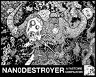 THROAT SLITTER Nanodestroyer - A Fastcore Compilation album cover