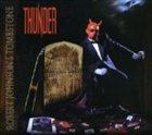 THUNDER Robert Johnson's Tombstone album cover
