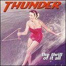 THUNDER The Thrill of It All album cover