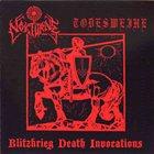 TODESWEIHE Blitzkrieg Death Invocation album cover