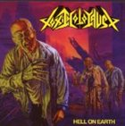 TOXIC HOLOCAUST Hell on Earth album cover