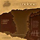 UNDONE Promo CD III album cover