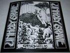 UNHOLY GRAVE Grindholic album cover