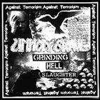 UNHOLY GRAVE Grinding Hell Slaughter album cover