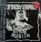 UNHOLY GRAVE Immortal Grind Legion album cover