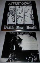 UNHOLY GRAVE Unholy Grave / Taste of Fear album cover