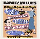 VARIOUS ARTISTS (GENERAL) Family Values Tour '98 album cover