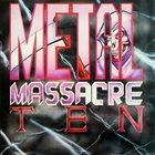 VARIOUS ARTISTS (GENERAL) Metal Massacre X album cover