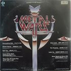 VARIOUS ARTISTS (GENERAL) Metal Wars - A Heavy Metal Assault album cover