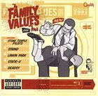 VARIOUS ARTISTS (GENERAL) The Family Values Tour 2001 album cover