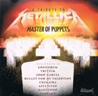 VARIOUS ARTISTS (TRIBUTE ALBUMS) A Tribute Master of Puppets album cover