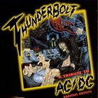 VARIOUS ARTISTS (TRIBUTE ALBUMS) Thunderbolt - A Tribute To AC/DC album cover