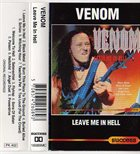 VENOM Leave Me In Hell album cover