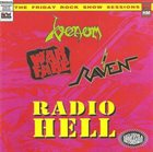 VENOM Radio Hell: The Friday Rock Show Sessions album cover