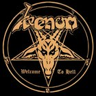 VENOM Welcome to Hell album cover