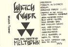 WATCHTOWER Meltdown album cover