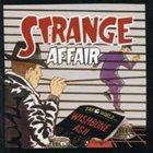 WISHBONE ASH Strange Affair album cover