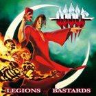 WOLF Legions of Bastards album cover