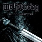 WOLFKRIEG Rage of Werewolf album cover