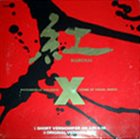 X JAPAN 紅 (Kurenai) Sonic Sheet album cover