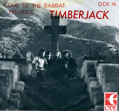 TIMBERJACK - Come to the Sabbat cover