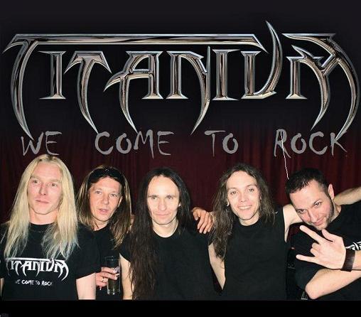 TITANIUM - We Come To Rock! cover