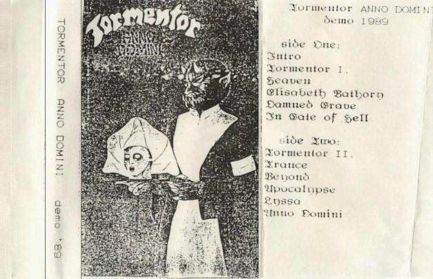TORMENTOR - Anno Domini cover
