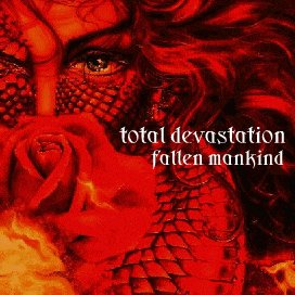TOTAL DEVASTATION - Fallen Mankind cover