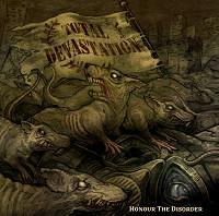TOTAL DEVASTATION - Honour the Disorder cover