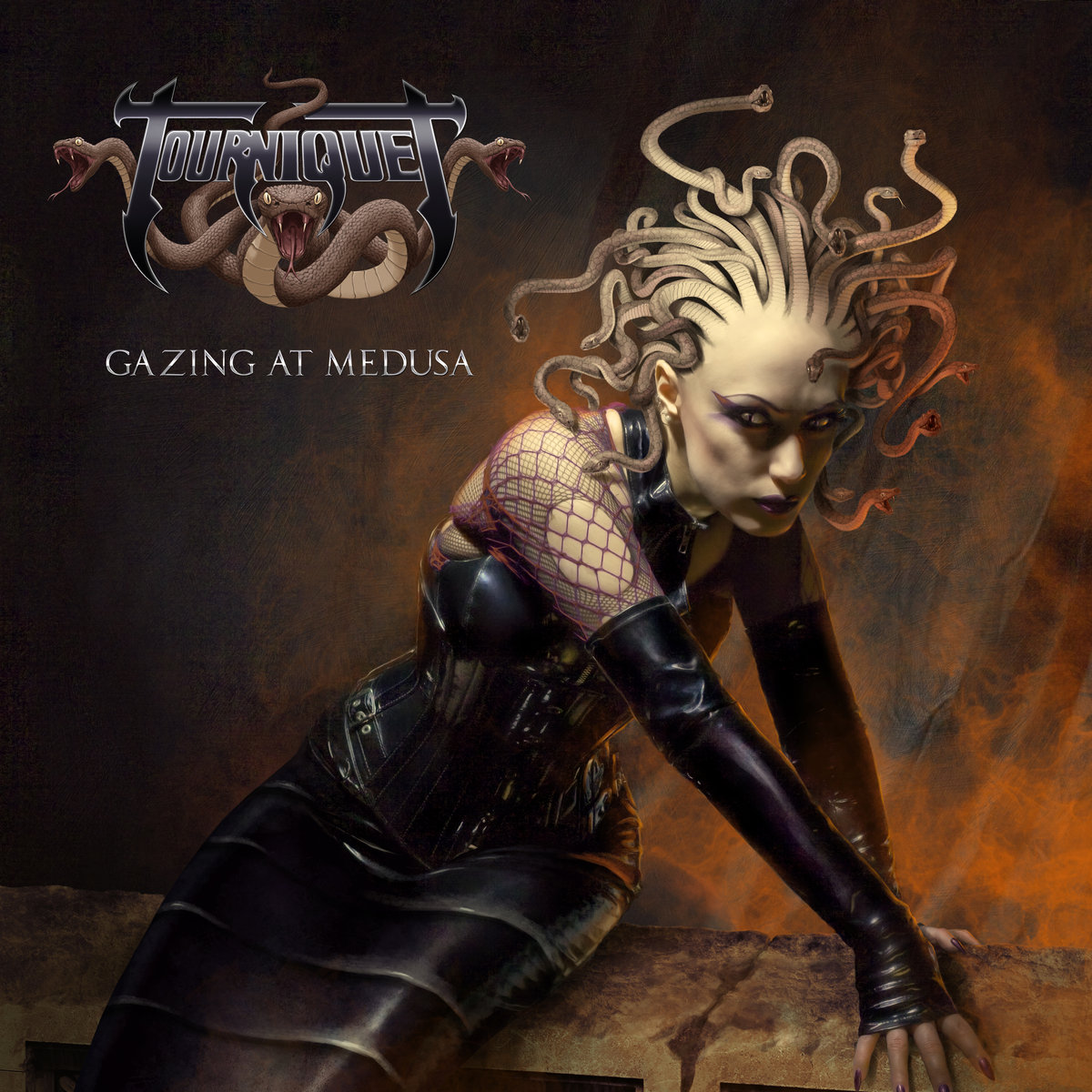 TOURNIQUET - Gazing at Medusa cover