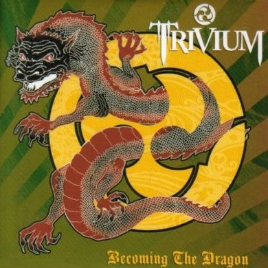 TRIVIUM - Becoming The Dragon cover