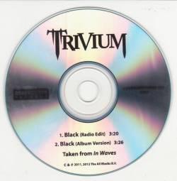 TRIVIUM - Black cover