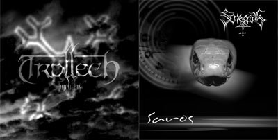 TROLLECH - Tumultus / Saros cover