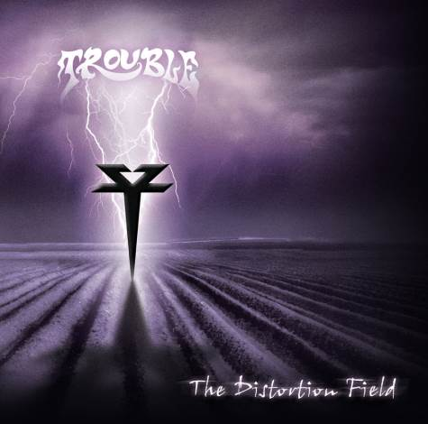 TROUBLE - The Distortion Field cover
