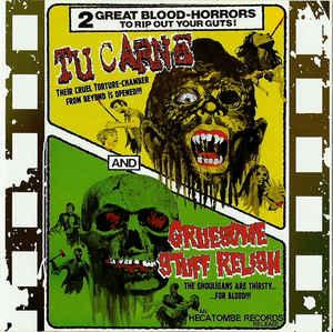 TU CARNE - 2 Great Blood Horrors cover