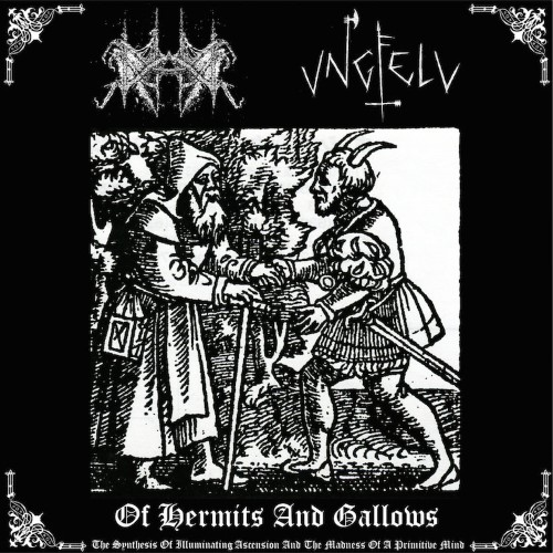 UNGFELL - Of Hermits and Gallows (The Synthesis of Illuminating Ascension and the Madness of a Primitive Mind) cover