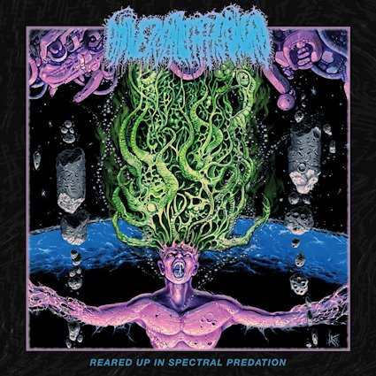UNIVERSALLY ESTRANGED - Reared Up in Spectral Predation cover