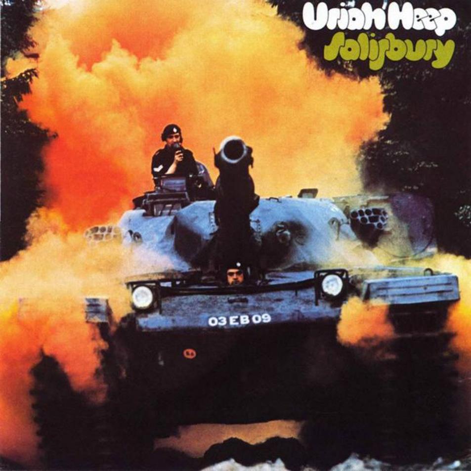 URIAH HEEP - Salisbury cover