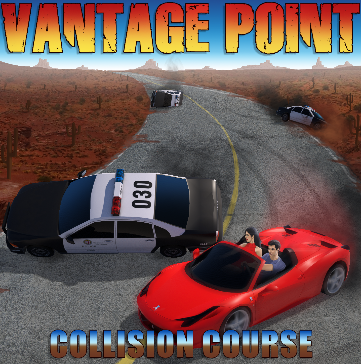VANTAGE POINT - Collision Course cover