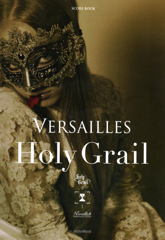 VERSAILLES - Holy Grail Score Book cover