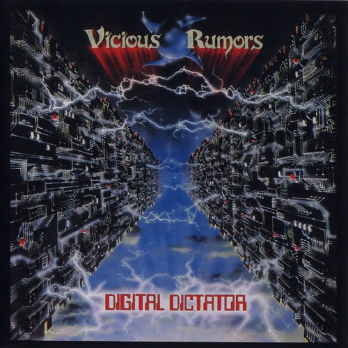 VICIOUS RUMORS - Digital Dictator cover